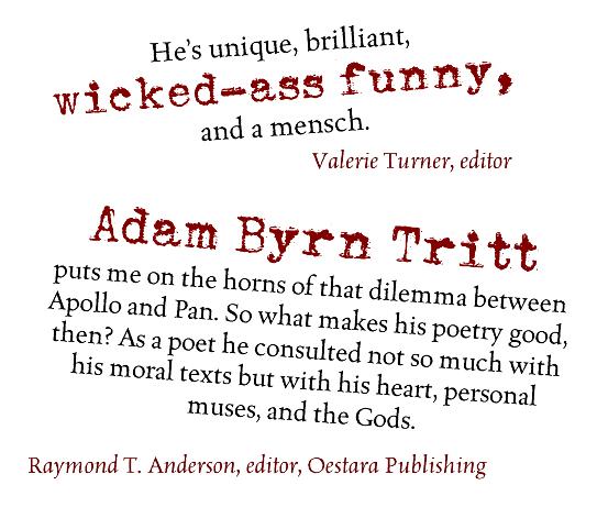 Adam Byrn Tritt Author Poet Essayist Teacher Social Activist