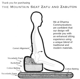 The Mountain Seat Zafu and Zabuton Brochure
